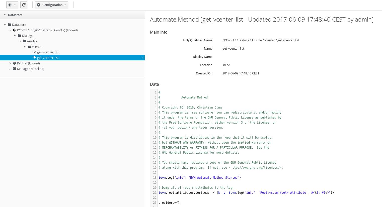 Automate with custom method