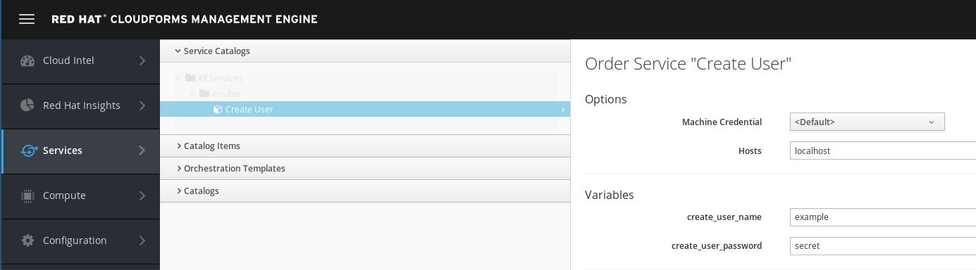create user order form