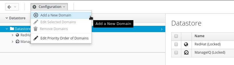 add new automate domain