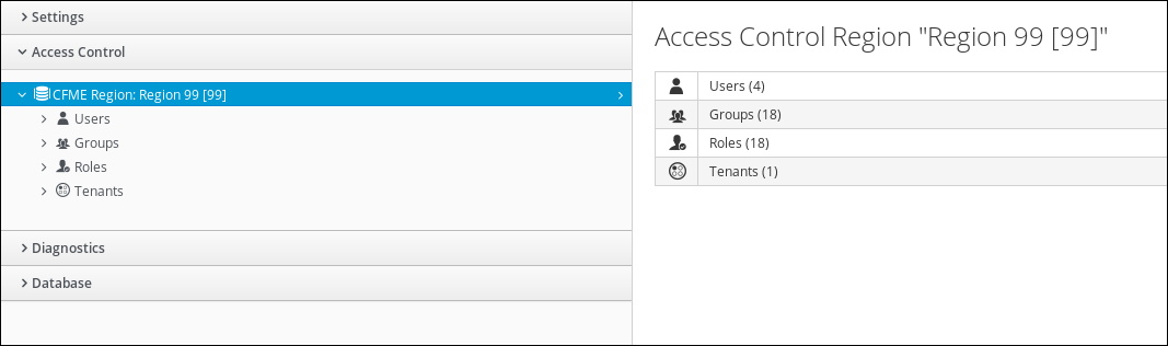 navigate to access control