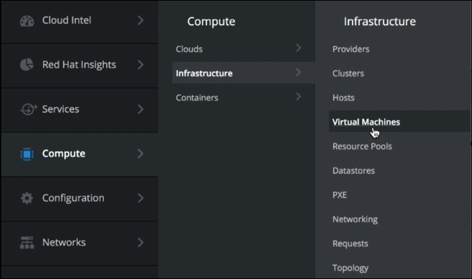 navigate-compute-infrastructure-vms
