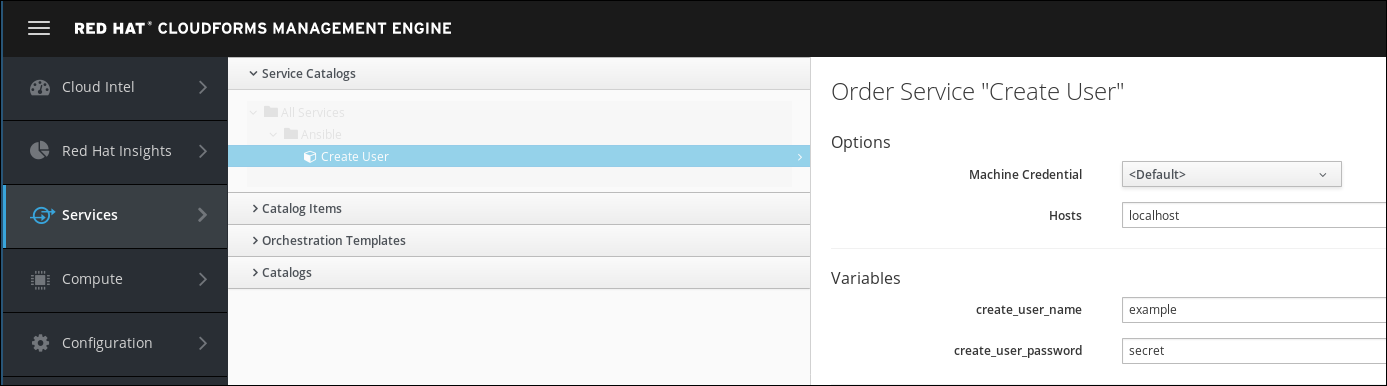 create user order form