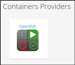OpenShift provider tile icon